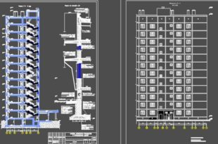 12-этажное панельное здание