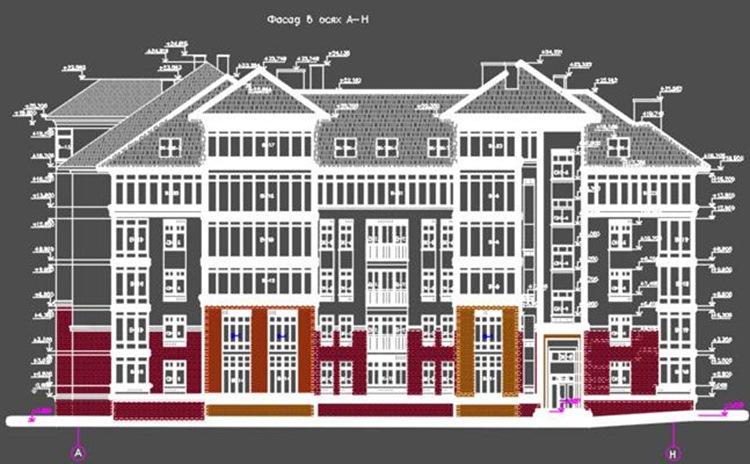 6-ти этажный жилой дом