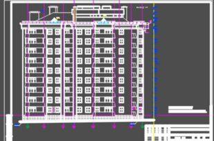 9 этажный жилой дом с офисами в цокольном этаже