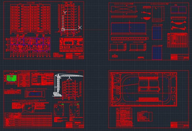 Кирпичный 9-ти этажный дом + Смета