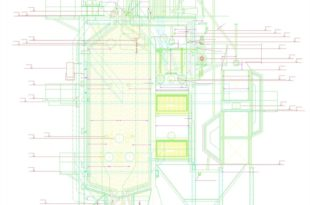 Котел ГМ-50 в формате AutoCAD-Модель