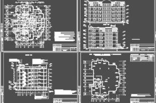 Многоэтажный дом меридионального типа