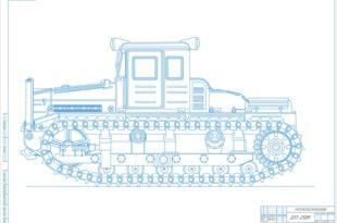 Трактор ДЭТ-250М