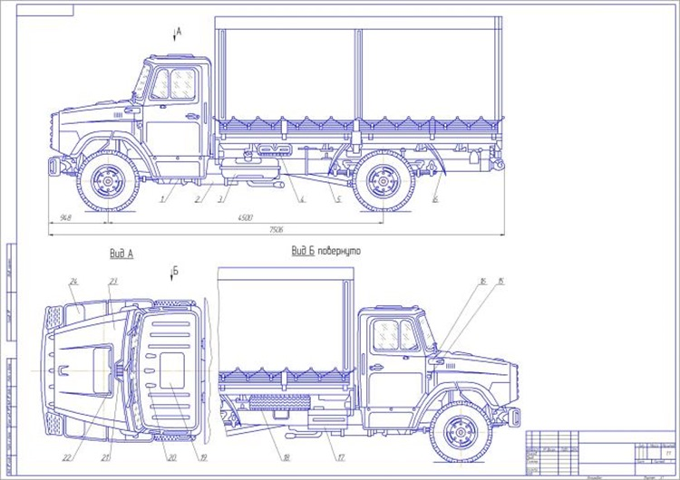 ЗиЛ-4331-511 общий вид