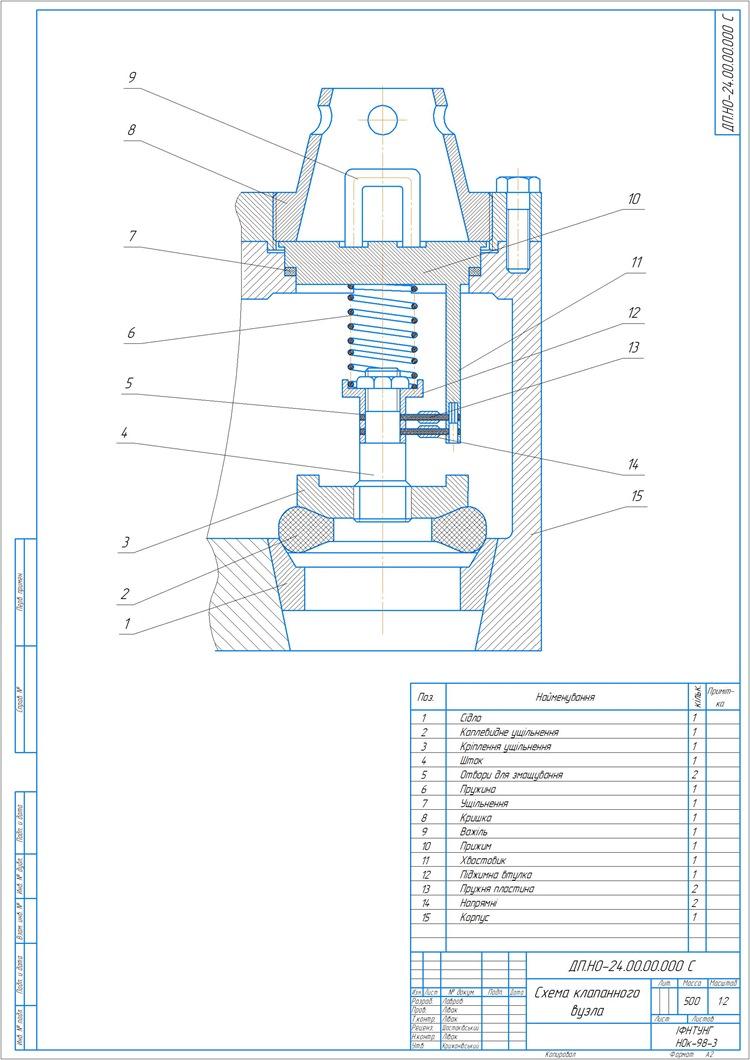 500057_Схема клапанного вузла