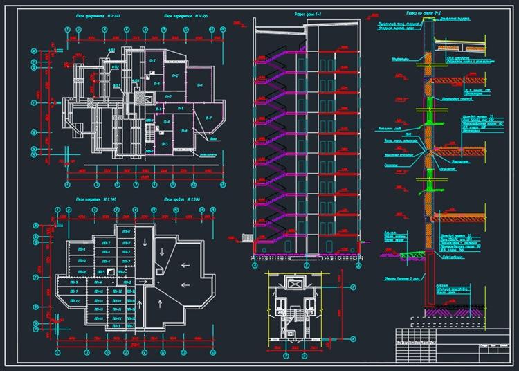 9-ти этажный панельный дом