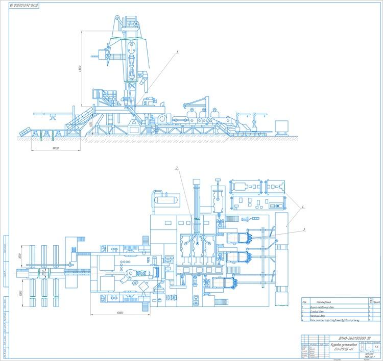 Бурова установка БУ-200ДГ-IV