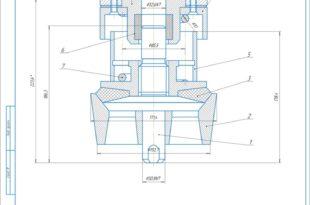 Клапанний вузол КСК9-7 бурового насоса НБТ-950