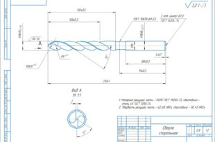 Сверло спиральное D=18 мм